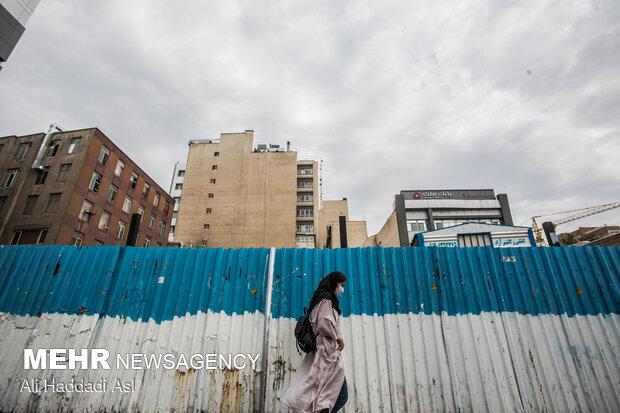 کیفیت هوای تهران در آستانه ورود به شرایط نامطلوب است