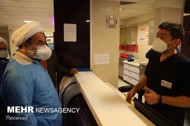 Leader's envoy visits coronavirus hospital in Zahedan