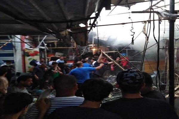 السفارة الايرانية في بغداد تدين انفجار مدينة الصدر