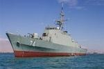 المجموعة الـ 75 للقوة البحرية تصل الى المياة الإقليمية الإيرانية