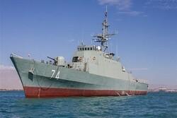 المجموعة البحرية الايرانية في سان بطرسبورغ للمشاركة في استعراض القوة البحرية الروسية