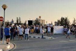 Erdoğan'ın Kuzey Kıbrıs ziyaretine protesto