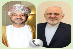 ظریف عید قربان را به وزیر خارجه عمان تبریک گفت