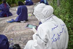 دعای عرفه در بیمارستان حضرت علی اصغر(ع) شیراز