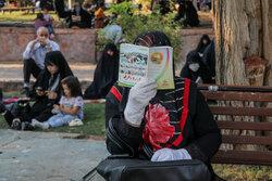 مراسم دعای عرفه در امامزاده سید حمزه تبریز