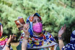 یوم عرفہ کی مناسبت سے بہشت زہرا(س)  میں دعائیہ تقریب منعقد
