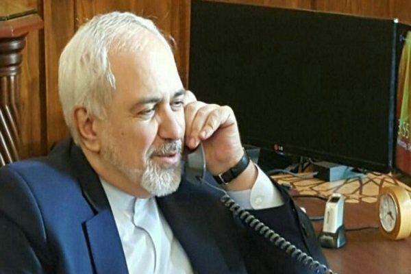 Zarif felicitates counterparts on Eid al-Adha, discusses ties