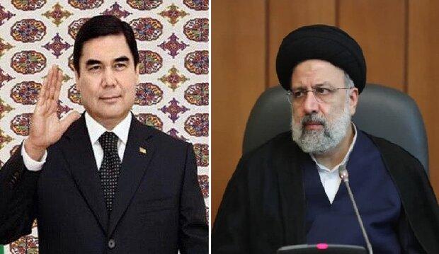 Türkmenistan Cumhurbaşkanı'ndan Ayetullah Reisi'ye davet