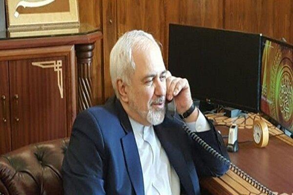 Zarif holds phone calls with Azarbaijan, Qatar, Kuwait FMs