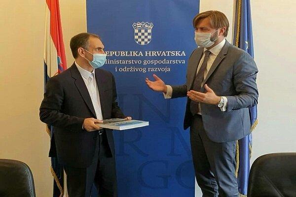 Iran, Croatia review enhancing economic coop.