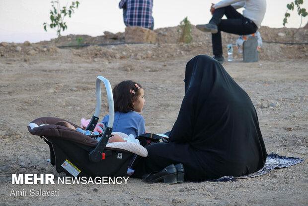 People in Semnan observe Arafa Day