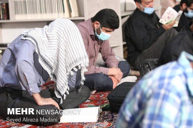 مراسم دعای پرفیض عرفه در امامزاده قاضی الصابر (ع)