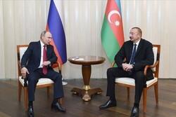 رؤسای جمهور روسیه و جمهوری آذربایجان در مسکو دیدار کردند