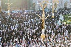 ایران میں عید الاضحی مذہبی جوش و خروش کے ساتھ منائي جارہی ہے