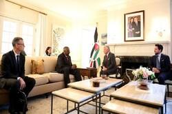 رایزنی پادشاه اردن با وزیر دفاع آمریکا