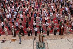 اقامه نماز عید قربان در قزوین