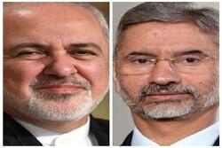 ایرانی وزیر خارجہ اور بھارتی وزیر خارجہ کی ٹیلیفون پر گفتگو