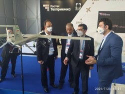 Iranian products showcased at Russia's MAKS 2021