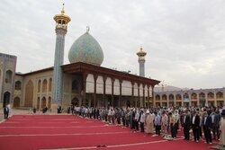 Şiraz'da Kurban Bayramı namazı kılındı