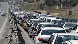 ترافیک سنگین در جنوب به شمال جاده های چالوس، هراز، فیروزکوه و فشم