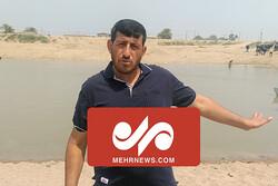 آب رسید اما دیر؛ مطالبه به حق پرداخت خسارت کشاورز و دامدار