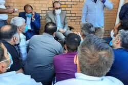 بازدید گروهی مسئولان قضایی البرز از زندانهای کرج و فردیس