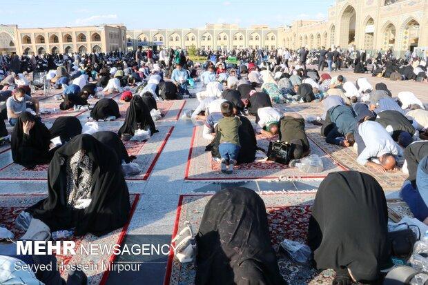 'Day of Arafa' marked at Imam Reza holy shrine
