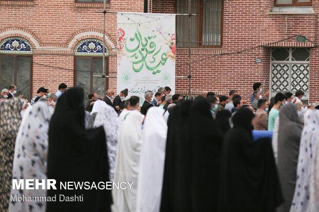 Erdebil'de Kurban Bayramı namazı eda edildi