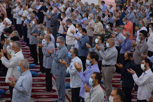 نماز عید سعید قربان در مناطق مختلف گیلان اقامه شد