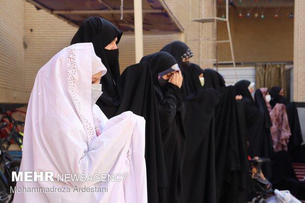 نماز عید قربان در ورامین اقامه شد