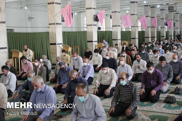 اقامه نماز عید سعید قربان در کرمانشاه