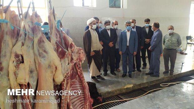 اعمال نظارت بهداشتی برای ذبح دام در تاسوعا و عاشورای حسینی