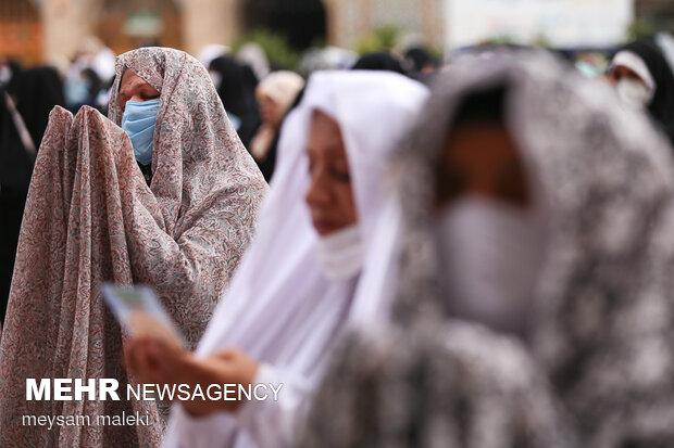 نماز عید قربان در کرمان اقامه شد