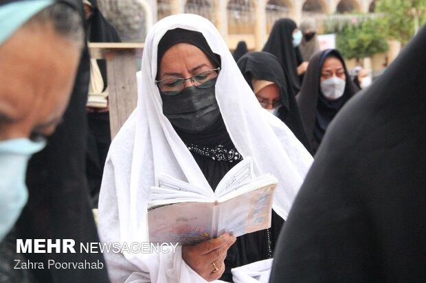 اقامه نماز عید قربان در حرم شاهچراغ(ع)