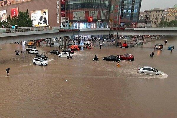 Çin'de sel felaketi: 100 bin kişi tahliye edildi
