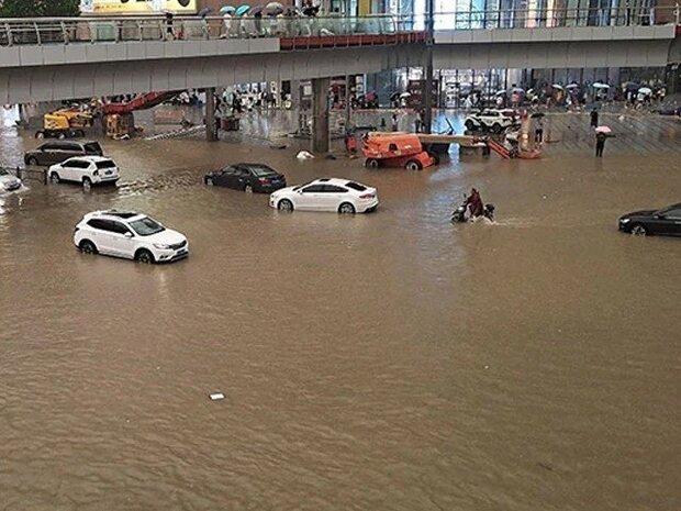 چين میں بارشوں اور سیلاب کے نتیجے میں 12 افراد ہلاک