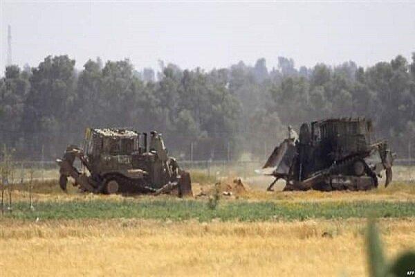 تداوم تحرکات صهیونیستها در جنوب غزه و کرانه باختری