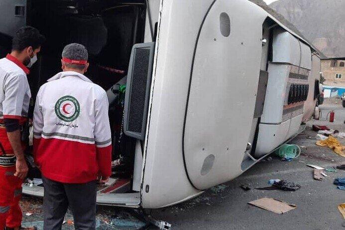 پوشش ۵۸ عملیات امدادی و امداد رسانی به بیش از ۹۰۰ حادثه دیده
