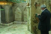 Kudüs Gücu Komutanı kutsal kent Kum'da