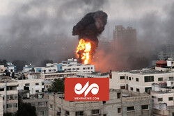 تصاویر انفجار امروز در غزه
