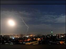 شامی فوج نے حمص پر اسرائیلی حملہ ناکام بنادیا