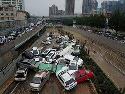 وقوع سیل مرگبار در چین