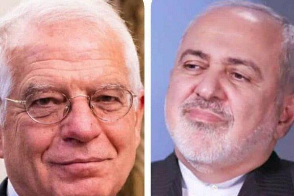 Zarif, Borrell discuss JCPOA, developments in Afghanistan