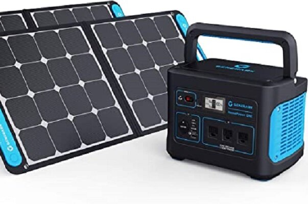 ژنراتور خورشیدی قابل حمل برای تولید برق اضطراری