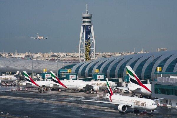 جزییات برخورد ۲ هواپیما در فرودگاه دبی