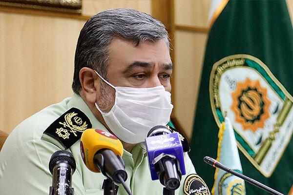سردار اشتری از مرز بین المللی مهران بازدید کرد