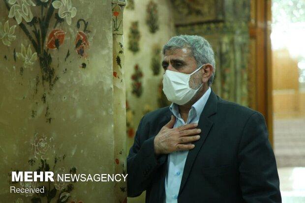 قائد فيلق القدس العميد قاآني يلتقي بمراجع الدين العظام في مدينة قم المقدسة