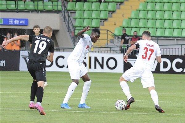 Sivasspor, UEFA Avrupa Konferans Ligi maçında Petrocub'u mağlup etti