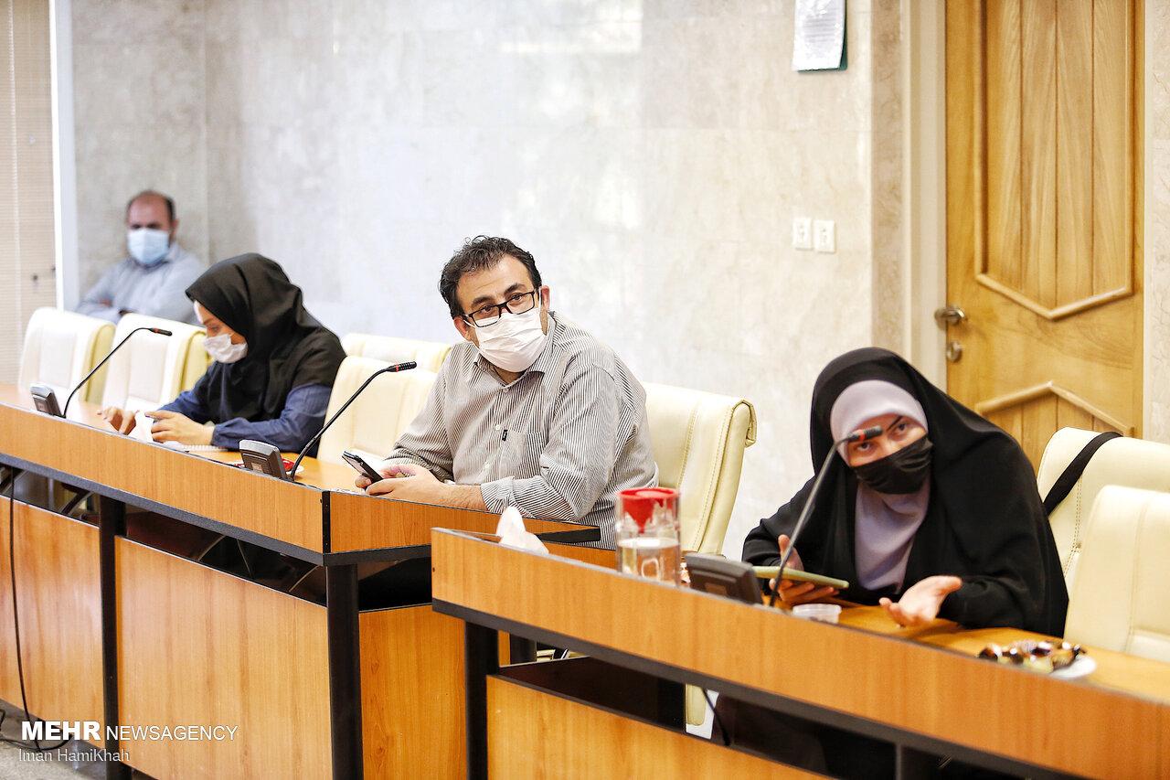 نشست خبری سردار سرتیپ خلبان چیت فروش
