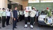 برگزاری تشییع پیکر شهید مدافع وطن در اهواز